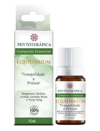 Phytoterápica Composto Essencial Equilibrium - Tranquilidade e Frescor 15ml