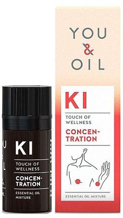 You & Oil KI Concentração e Foco - Blend Bioativo de Óleos Essenciais 5ml