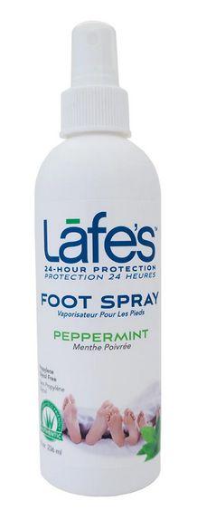 Lafe's Desodorante Spray Para Pés Hortelã e Aloe 118ml