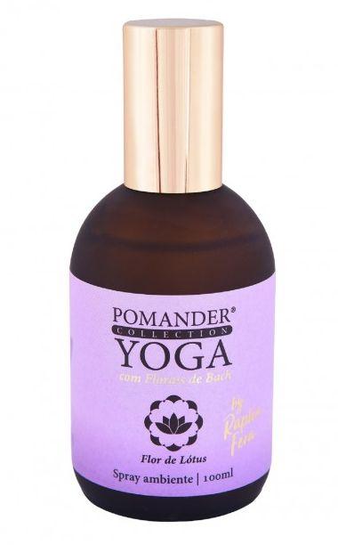 Pomander Yoga Flor de Lótus (Transmutação) Spray Ambiente 100ml