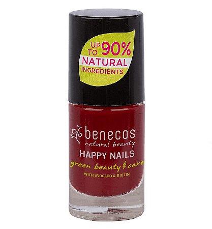 Benecos Esmalte Happy Nails Nail Polish Cherry Red 5ml