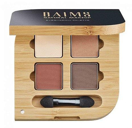 Baims Sombra Mineral / Eyeshadow - Quad Palette 01 Naturelle 5g