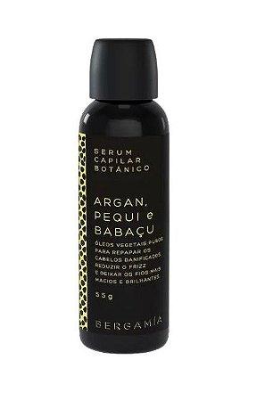 Bergamia Sérum Capilar Botânico de Argan, Pequi e Babaçu 55g