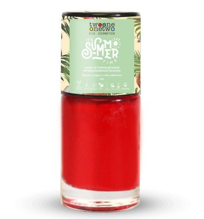 Twoone Onetwo It's Summer Time Esmalte Hipoalergênico 631 Flame Scarlet 10ml