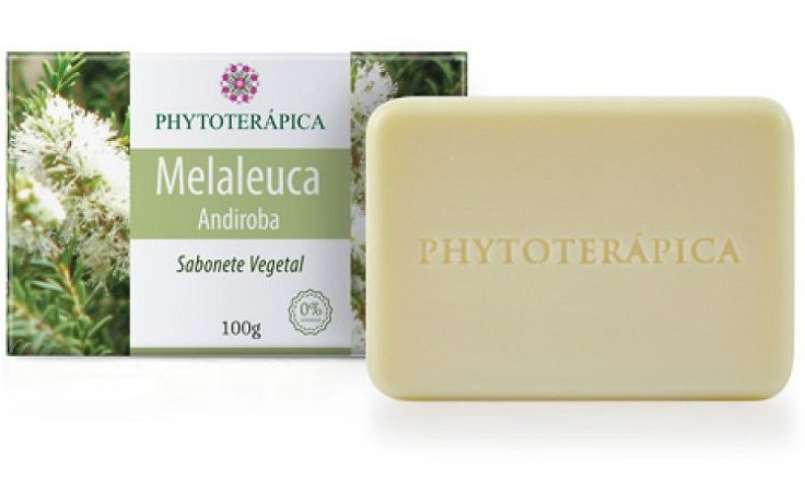 Phytoterápica Sabonete de Melaleuca e Andiroba 100g