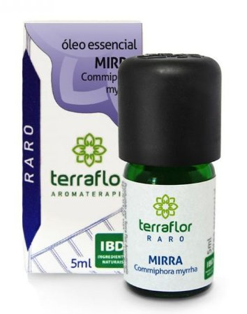 Terra Flor Óleo Essencial de Mirra 5ml