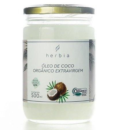 Herbia Óleo de Coco Orgânico Extravirgem 500ml