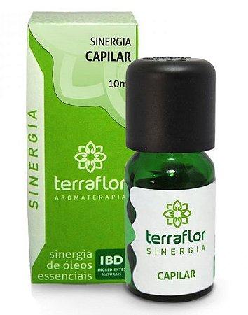 Sinergia Capilar com Óleos Essenciais - Antiqueda, Tônico e Revitalizante 10ml - Terra Flor