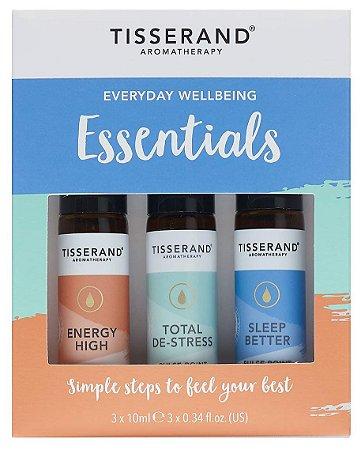 Tisserand Everyday Wellbeing Essentials - Kit com 3 Roll-ons Para Uso Diário
