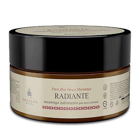 AhoAloe Manteiga Hidratante Radiante Aloe Vera e Murumuru 250g