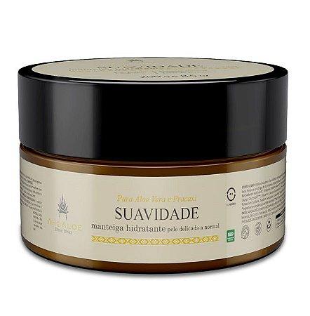 AhoAloe Manteiga Hidratante Suavidade Aloe Vera e Pracaxi 250g