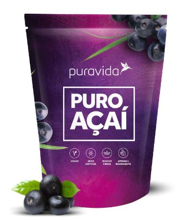Puravida Puro Açaí - Extrato em Pó Liofilizado 200g