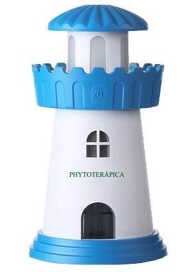 Phytoterápica Aromatizador Umidificador Ultrassônico Farol