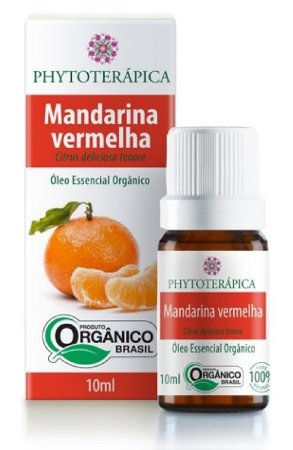 Phytoterápica Óleo Essencial de Mandarina Vermelha Orgânico 10ml