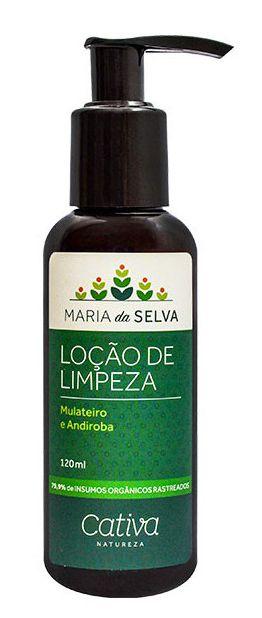 Cativa Natureza Maria da Selva Loção de Limpeza Facial 120ml