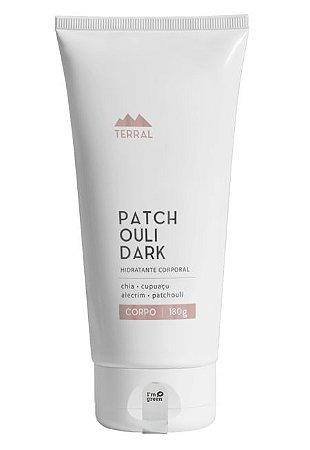 Terral Natural Hidratante Corporal Patchouli Dark 180g