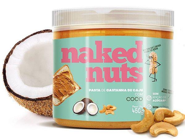 Naked Nuts Pasta de Castanha de Caju com Coco