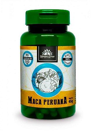 Kampo de Ervas Maca Peruana (500mg) - 90 Cápsulas Veganas