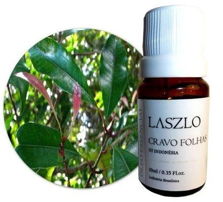 Óleo Essencial de Cravo Folhas - GT Indonésia 10,1ml - Laszlo