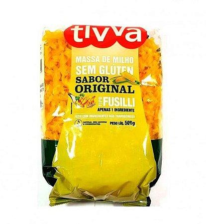 Tivva Macarrão Fusilli de Milho Sem Glúten 500g