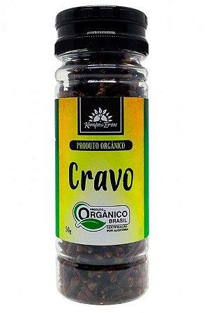 Kampo de Ervas Cravo da Índia Condimento Puro Orgânico 50g