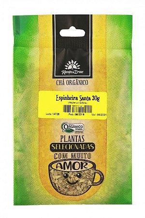Kampo de Ervas Chá de Espinheira Santa Orgânico Fracionado 30g