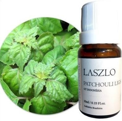 Óleo Essencial de Patchouli Light - GT Indonésia 10,1ml - Laszlo