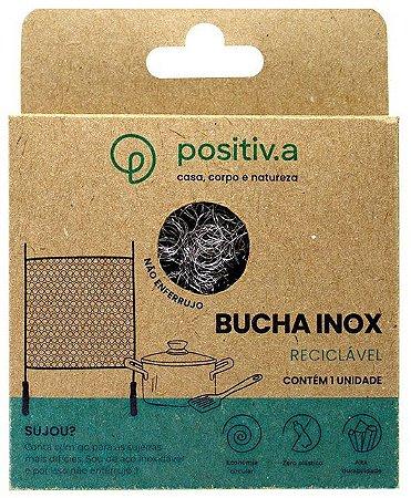 Positiv.a Bucha Inox Reutilizável 1un