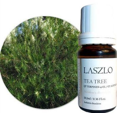 Óleo Essencial de Tea Tree - QT Terpinen-4-ol - GT Austrália 10,1ml - Laszlo