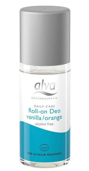 Desodorante Roll-on Orgânico Baunilha & Laranja 50ml - Alva