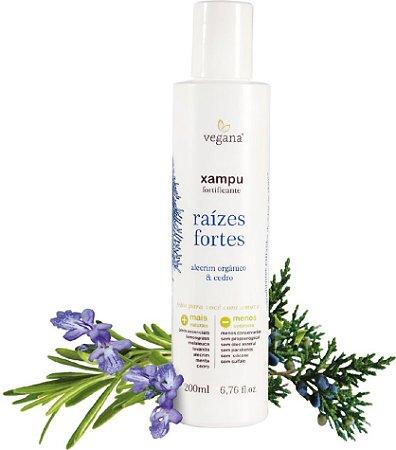 Vegana Xampu Fortificante Raízes Fortes 200ml