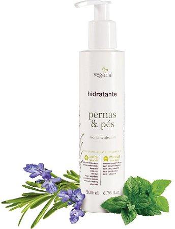 Vegana Hidratante Pernas & Pés 200ml
