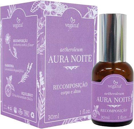 Vegana Spray Ambiente Aura Noite - Recomposição 30ml