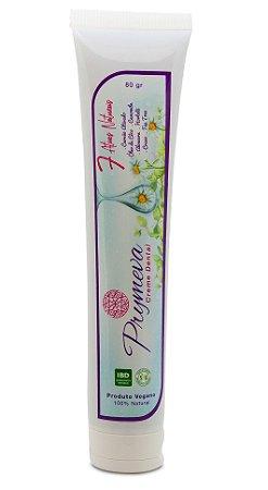 Prymeva Creme Dental Natural Camomila, Aloe Vera e Hortelã 80g