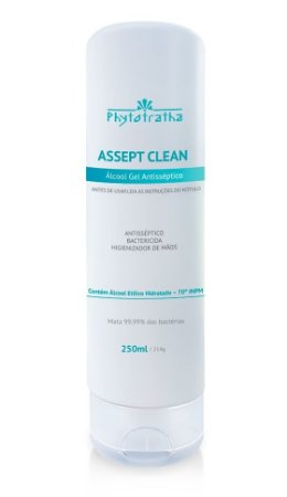 Phytoterápica / Phytotratha Álcool Gel Antisséptico 70% com Glicerina Sem Perfume 250ml