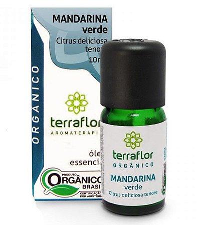 Terra Flor Óleo Essencial de Mandarina Verde Orgânico 10ml