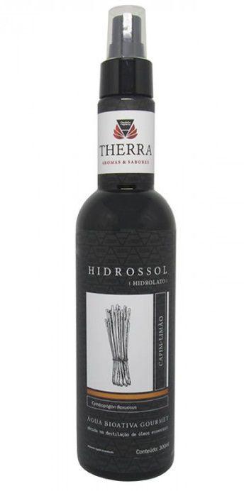 Therra Hidrossol / Hidrolato de Capim Limão (Lemongrass) Gourmet 300ml