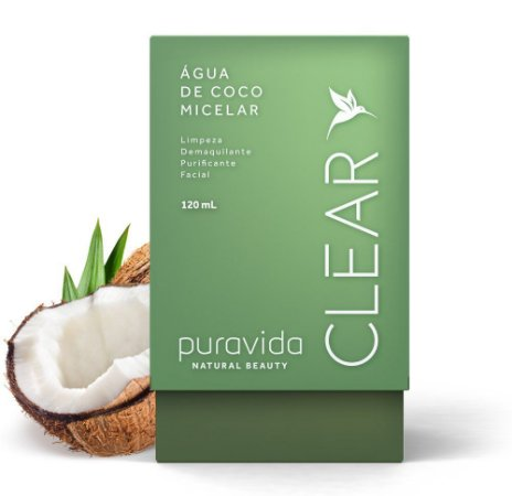 Puravida Água de Coco Micelar Clear 120ml