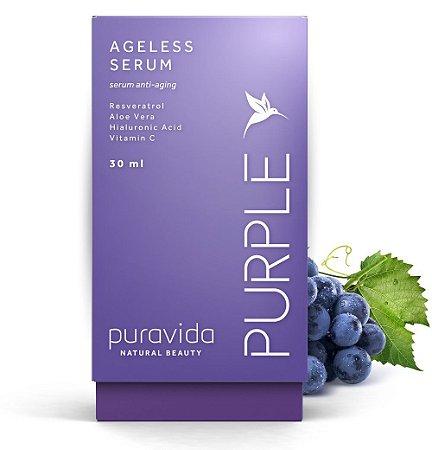 Puravida Ageless Serum Facial Purple 30ml