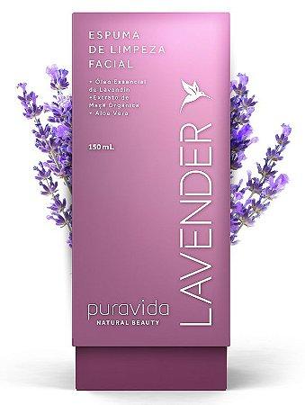 Puravida Espuma de Limpeza Facial Lavender 150ml