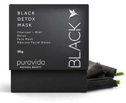 Puravida Máscara Facial Black Detox 50g