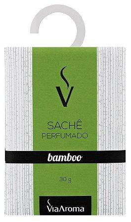 Sachê Perfumado Bamboo 30g - Via Aroma