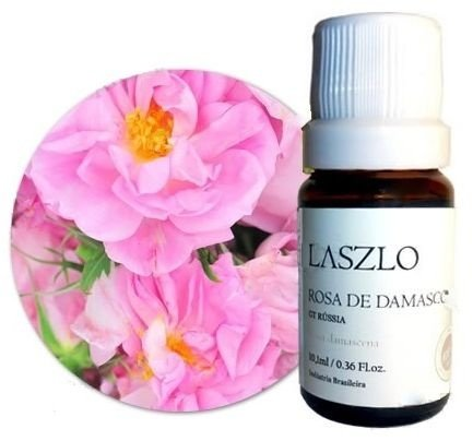 Óleo Absoluto de Rosa de Damasco 10% - GT Rússia 10,1ml - Laszlo
