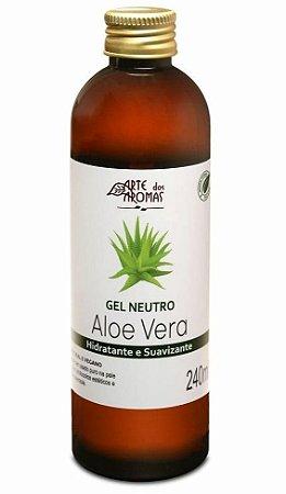 Arte dos Aromas Gel Neutro de Aloe Vera 240ml