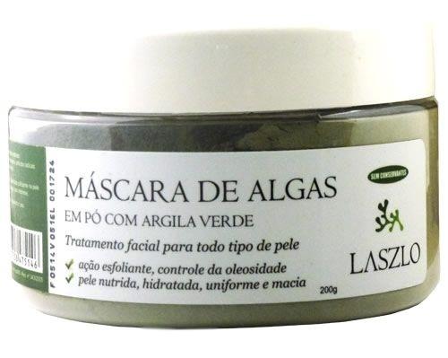 Máscara de Algas com Argila Verde 200g - Laszlo