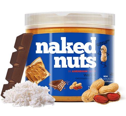 Naked Nuts Pasta de Amendoim Sabor Wafer de Chocolate e Coco