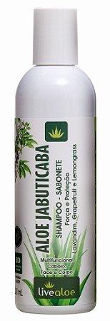 Livealoe Aloe Jabuticaba Shampoo e Sabonete Multifuncional 240ml