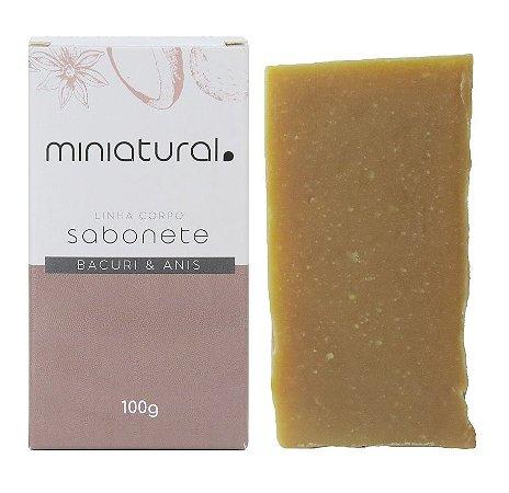 Miniatural Sabonete Bacuri e Anis 100g