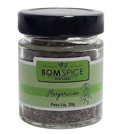 Bom Spice Manjericão Condimento Puro 20g