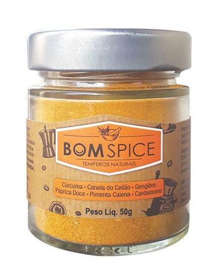 Bom Spice Café Power Mix de Especiarias Naturais 50g